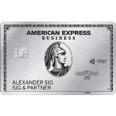 Freundschaftswerbung Business Card Platinum Belohnen Sie sich. Und