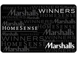 Tjx Canada Gift Card Winners Homesense Marshalls Purchase